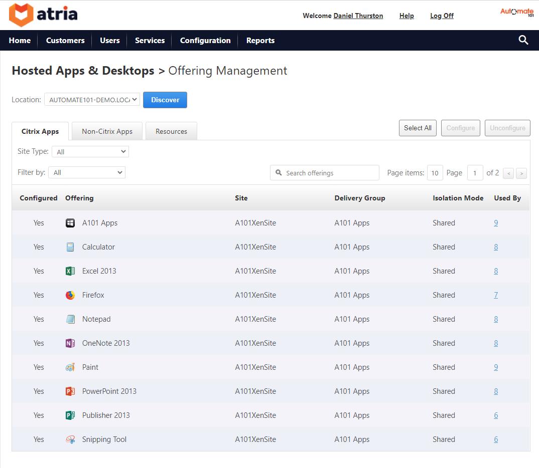 Citrix Virtual apps and Desktops Package Management